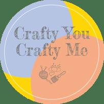 Crafty You Crafty Me logo