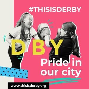#ThisIsDerby two girls boxing